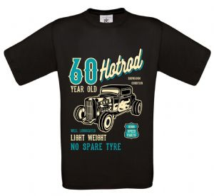 Premium 60 Year Old Hotrod Classic Custom Car Design For 60th Birthday Anniversary gift t-shirt